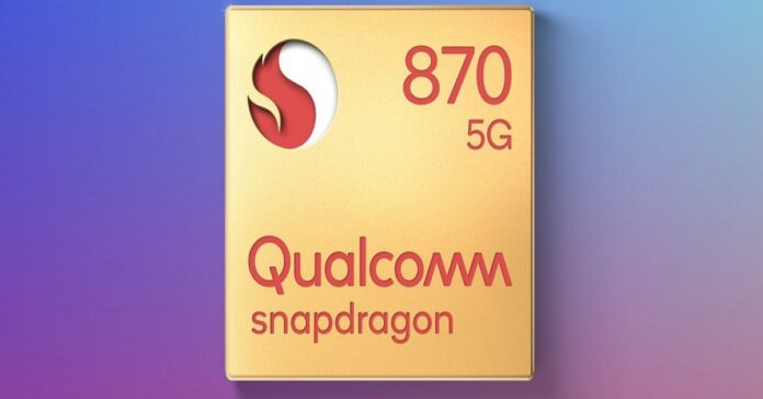 After Snapdragon 865 comes Snapdragon 870 for the 2021 phones.