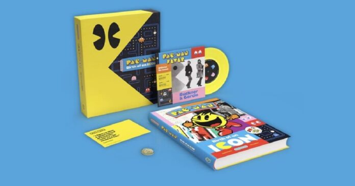 Take a look at the history book of Pac-Man which just came out.